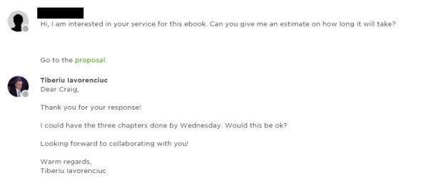 better freelancer customer service